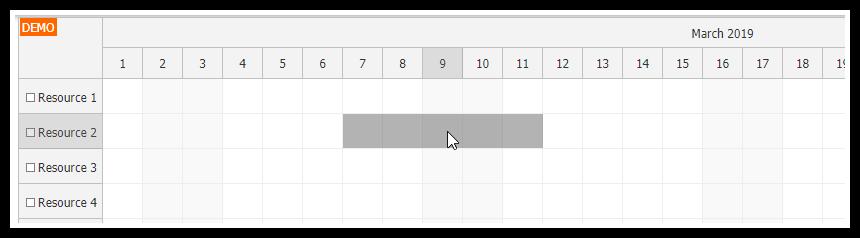 javascript scheduler skip non business event creating