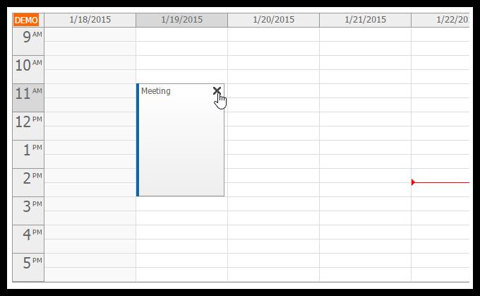asp.net mvc 5 event calendar delete