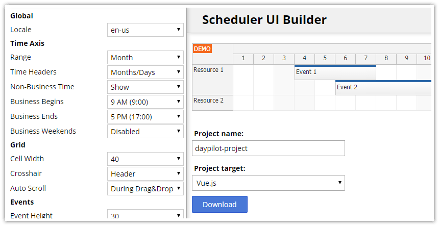 vuejs-scheduler-project-configurator.png
