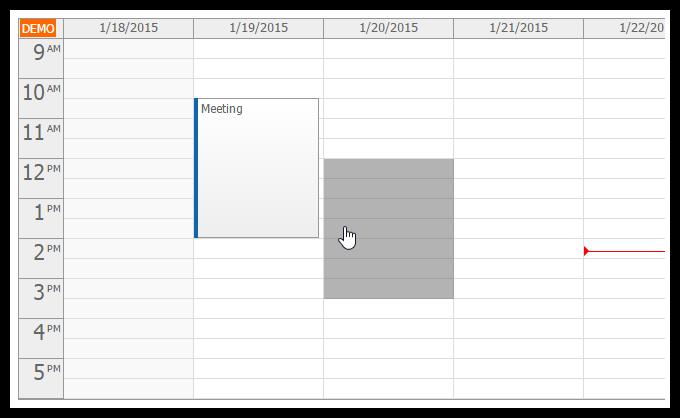 asp.net mvc 5 event calendar drag drop moving