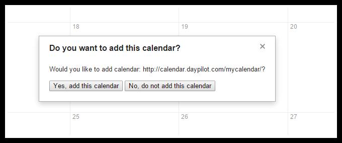 icalendar google calendar