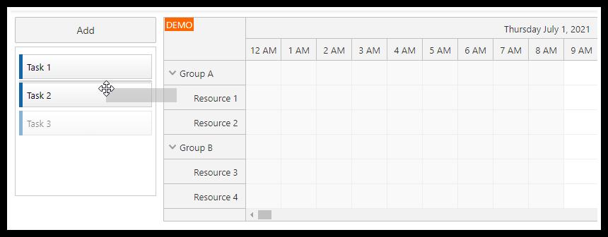 angular scheduler change task order in the queue