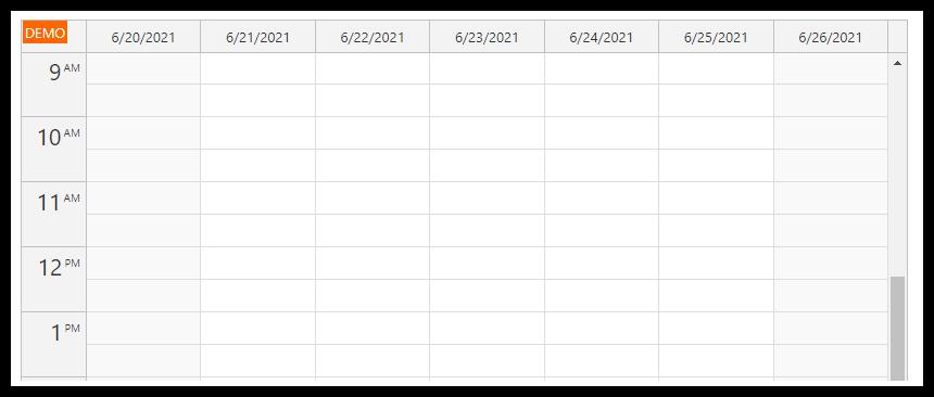 html5 javascript event calendar spring boot java start date