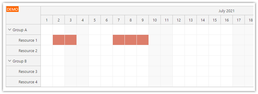 angular scheduler enable time slots using drag and drop updated