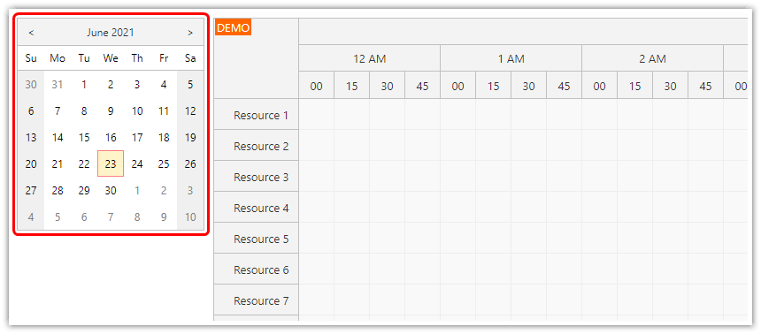 how to add a date picker to the web page